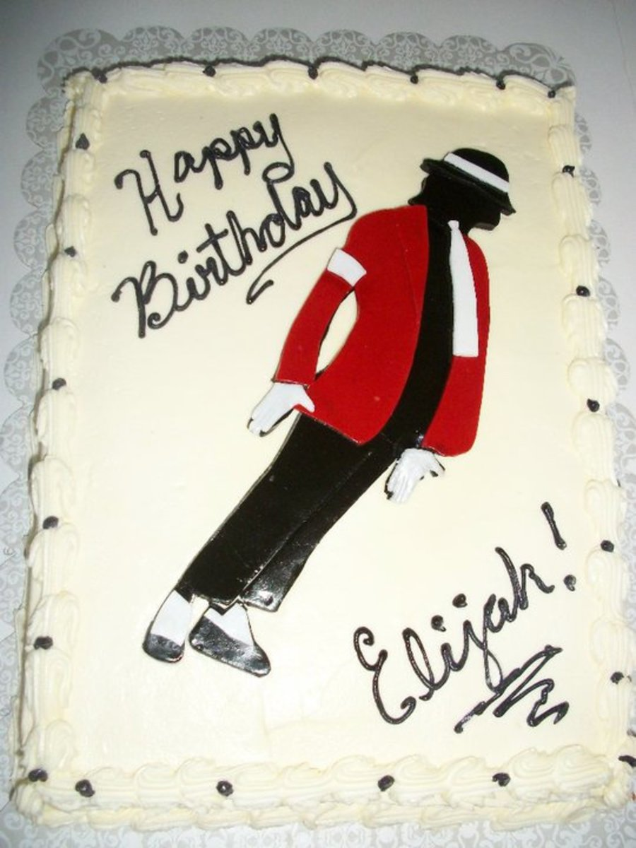 Michael Jackson on Cake Central