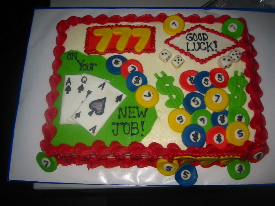 Cake Decorating Ideas For New Job : Good Luck On Your New Job! - CakeCentral.com