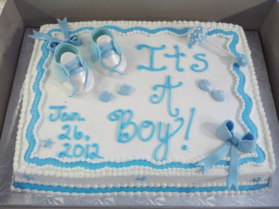 Baby Booties  on Cake Central
