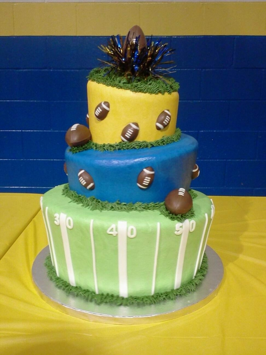 Football Mad Hatter on Cake Central