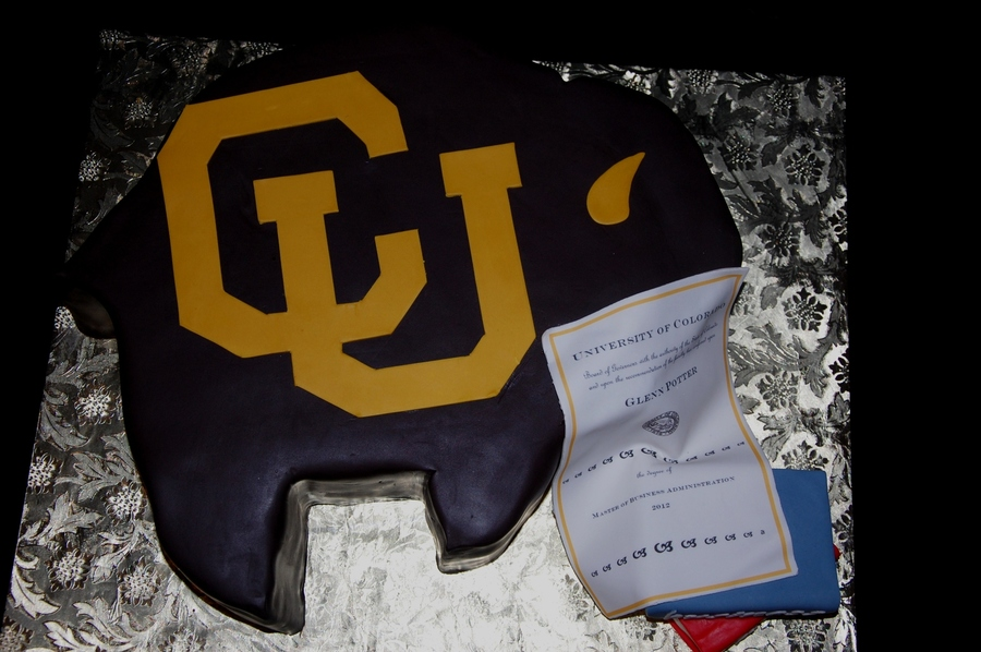 Carved From A 14 Square To Represent Ralphie The University Of Colorados Mascot Chocolate Fudge Cake Layered With Dark Chocolate Butter on Cake Central