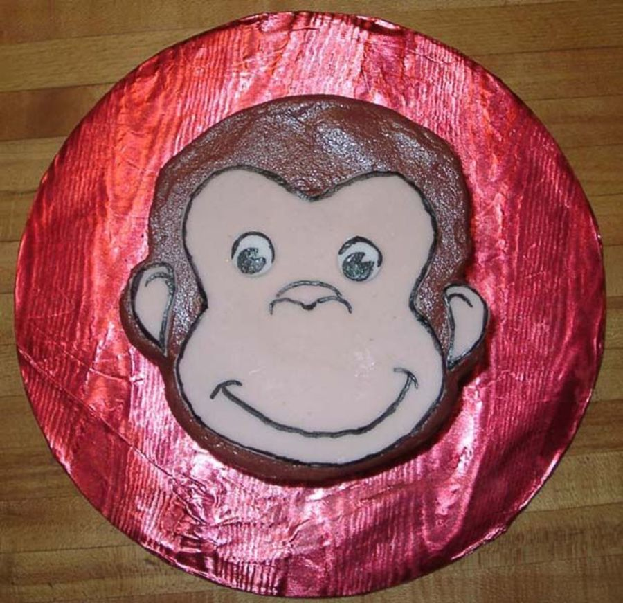 Curious George Smash Cake on Cake Central
