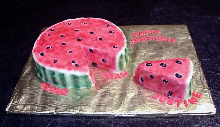 Watermelon Slice on Cake Central