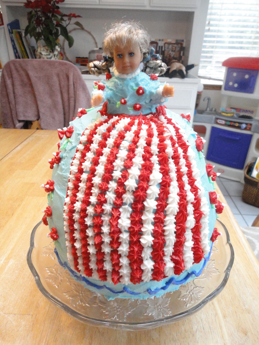 Pleasing American Girl Doll Cakecentral Com Personalised Birthday Cards Paralily Jamesorg