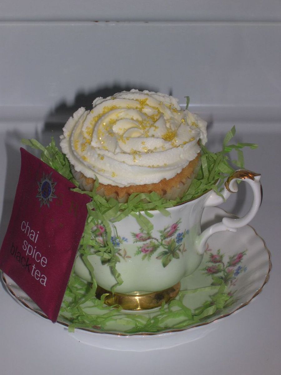 Cupcake Teacup on Cake Central