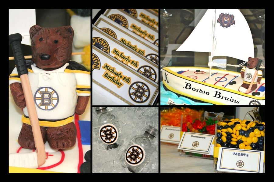 Bruins Nhl  on Cake Central