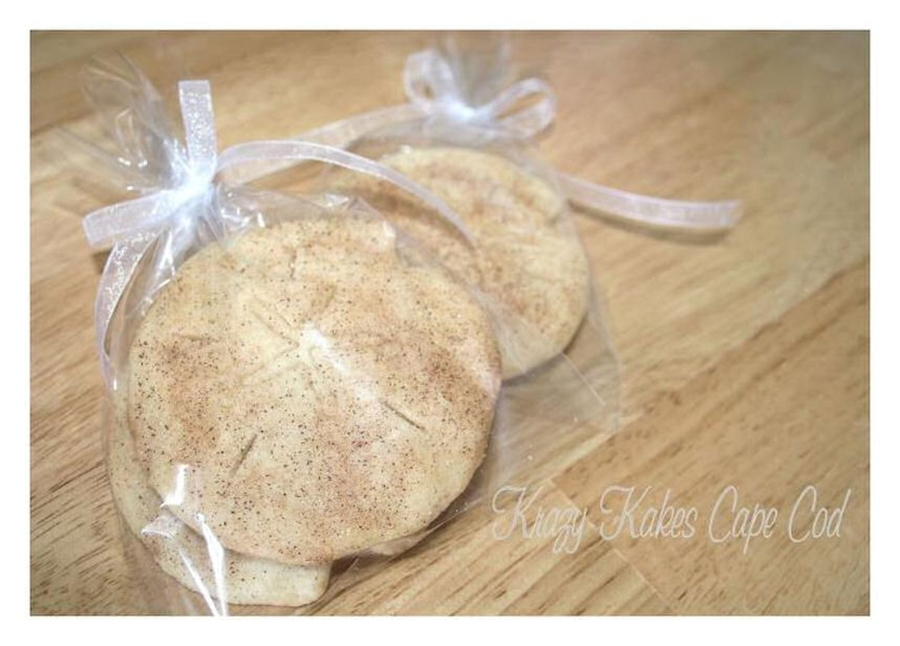 Wedding Favor Sand Dollar Cookies  on Cake Central