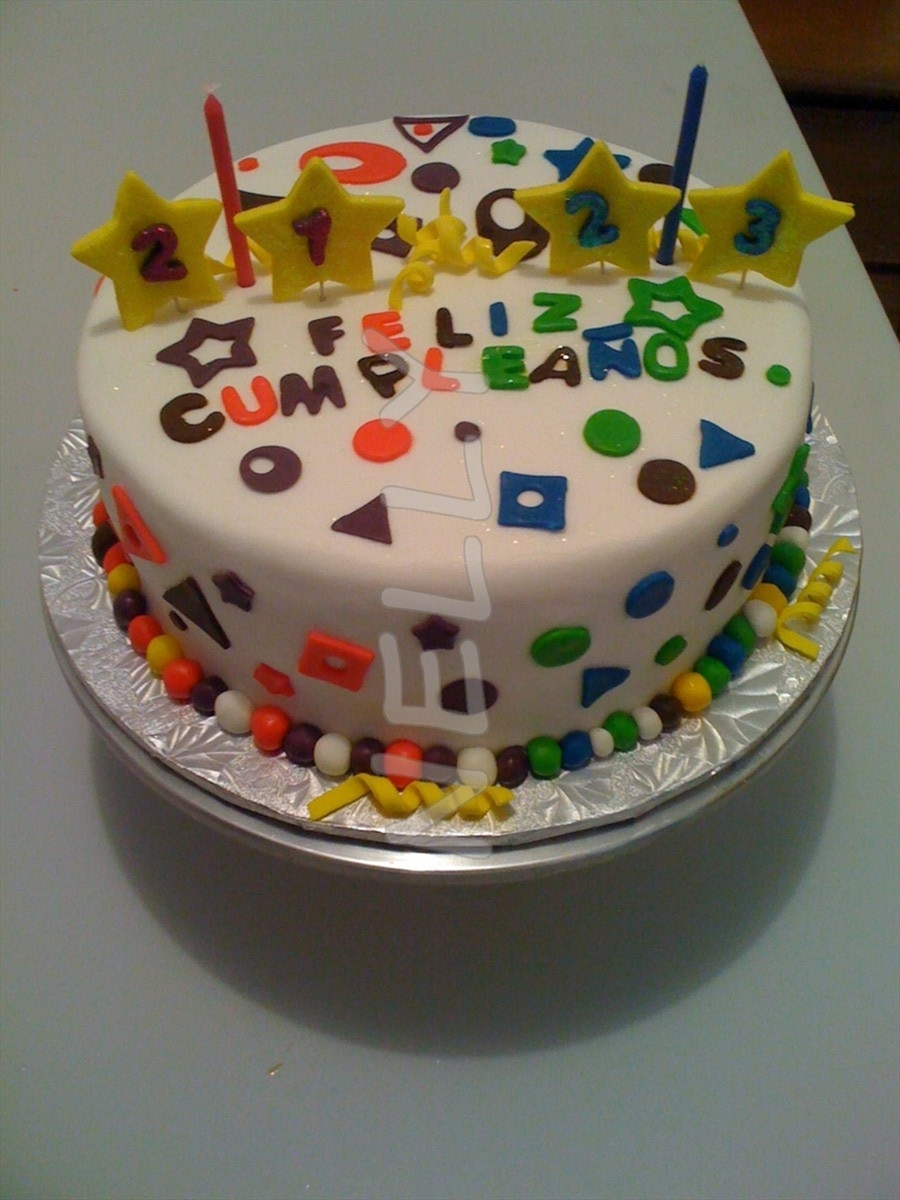 Brother And Sister Birthday Cake Cakecentral Com