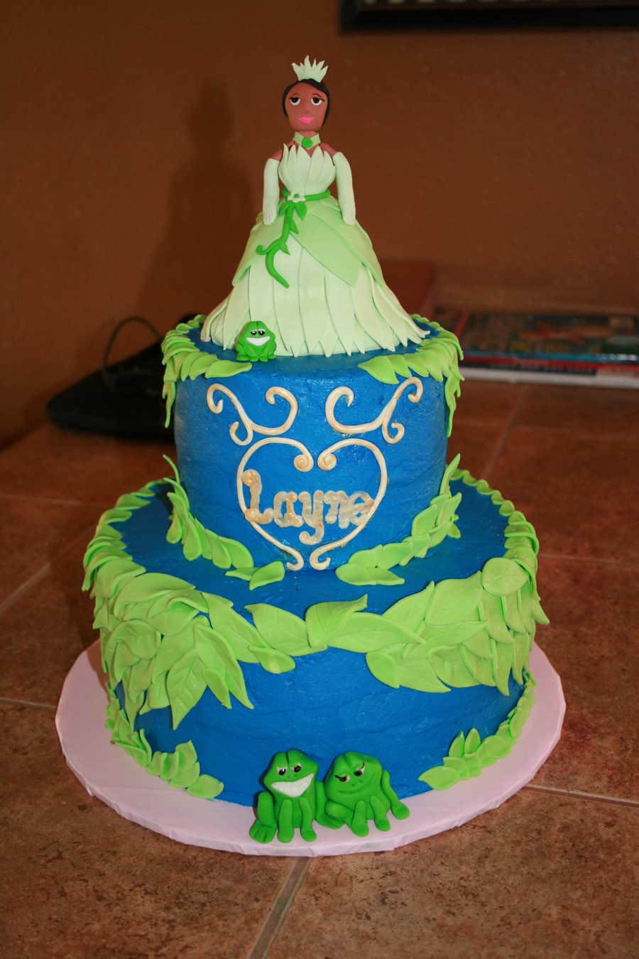 The Princess And The Frog on Cake Central