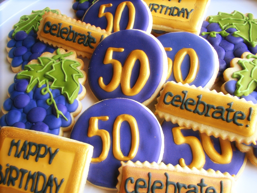 Winery Owner's 50Th B'day on Cake Central