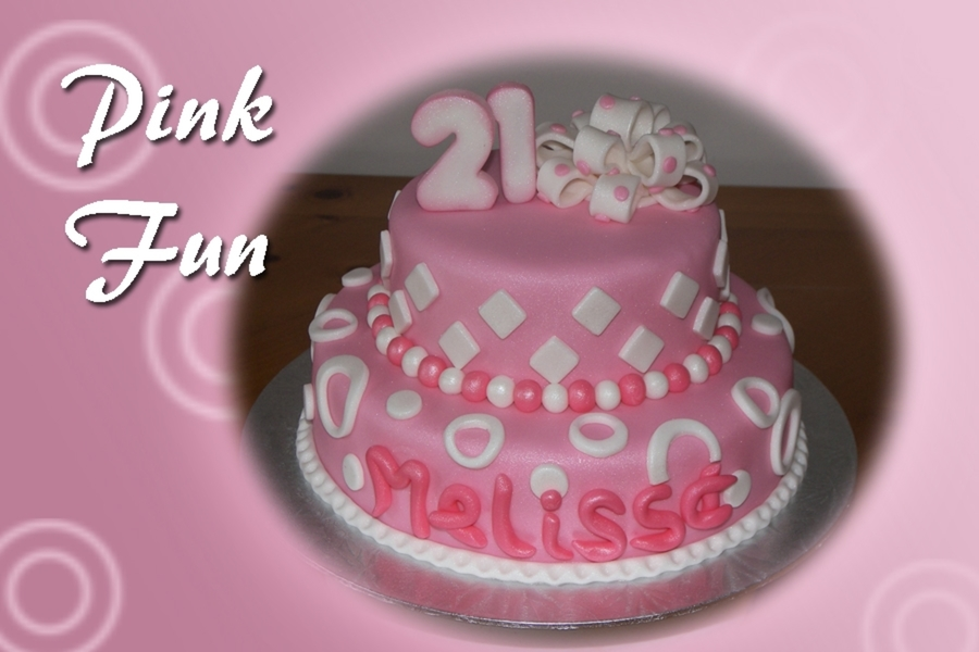 Pink Fun on Cake Central