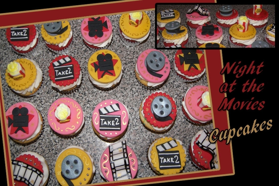 Night At The Movies Cupcakes on Cake Central