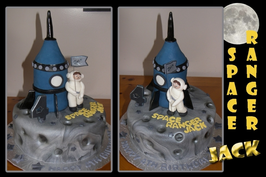 Space Ranger Jack on Cake Central