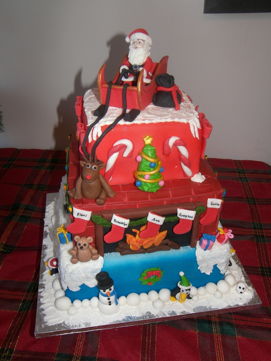 Christmas For The Kids on Cake Central