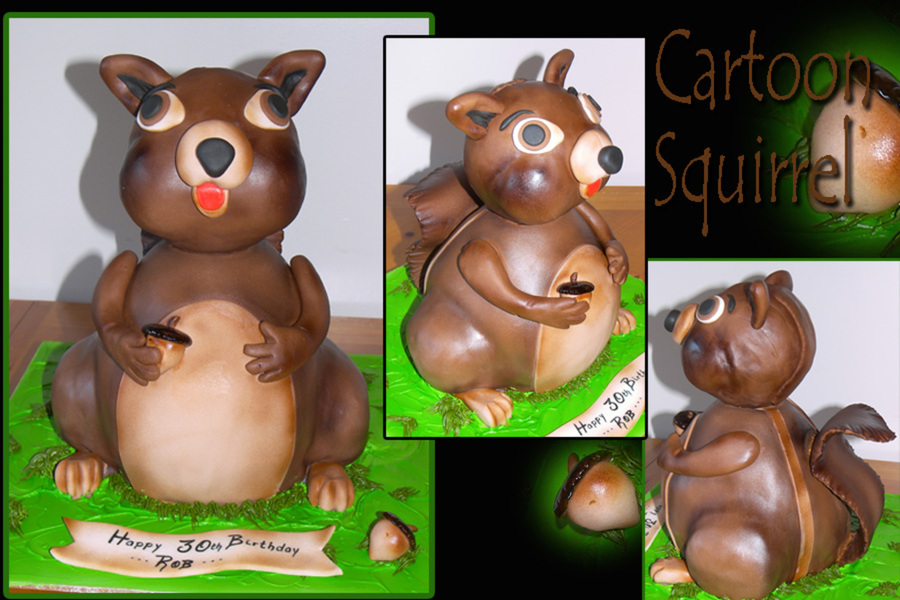 Squirrel on Cake Central