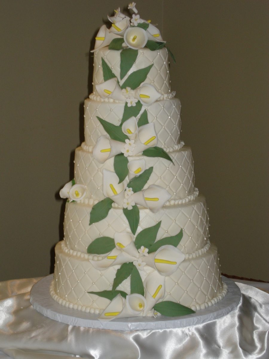 Calla Lillies on Cake Central