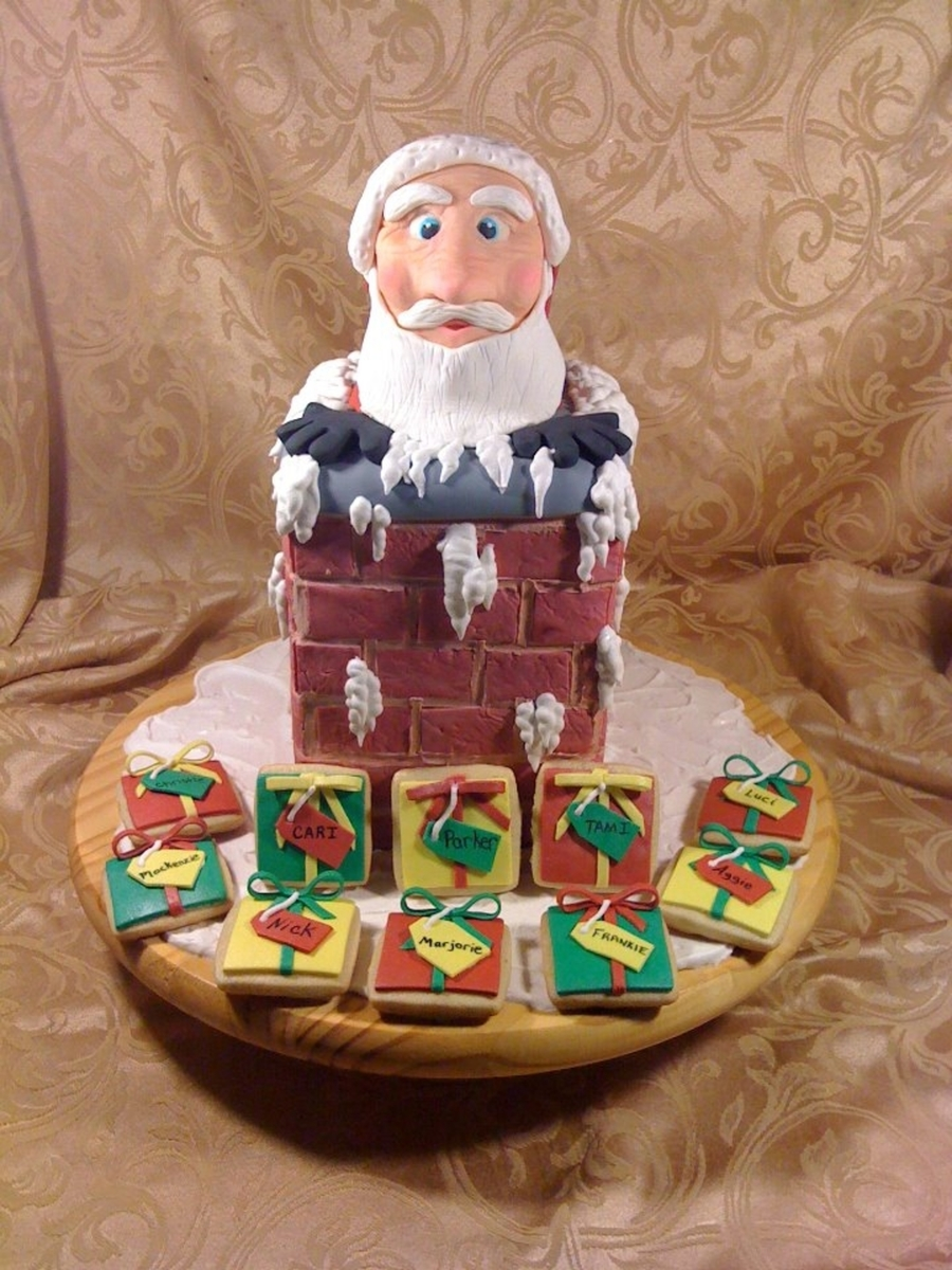 Here Comes Santa Clause on Cake Central