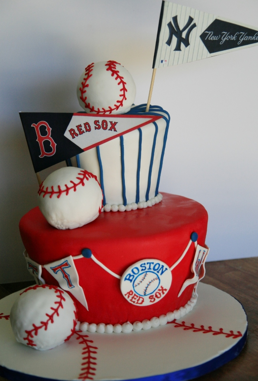 Enjoyable Baseball Birthday Cake Cakecentral Com Funny Birthday Cards Online Fluifree Goldxyz
