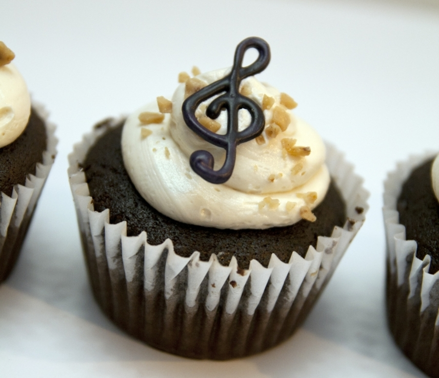 Music Note Cupcake Decorations