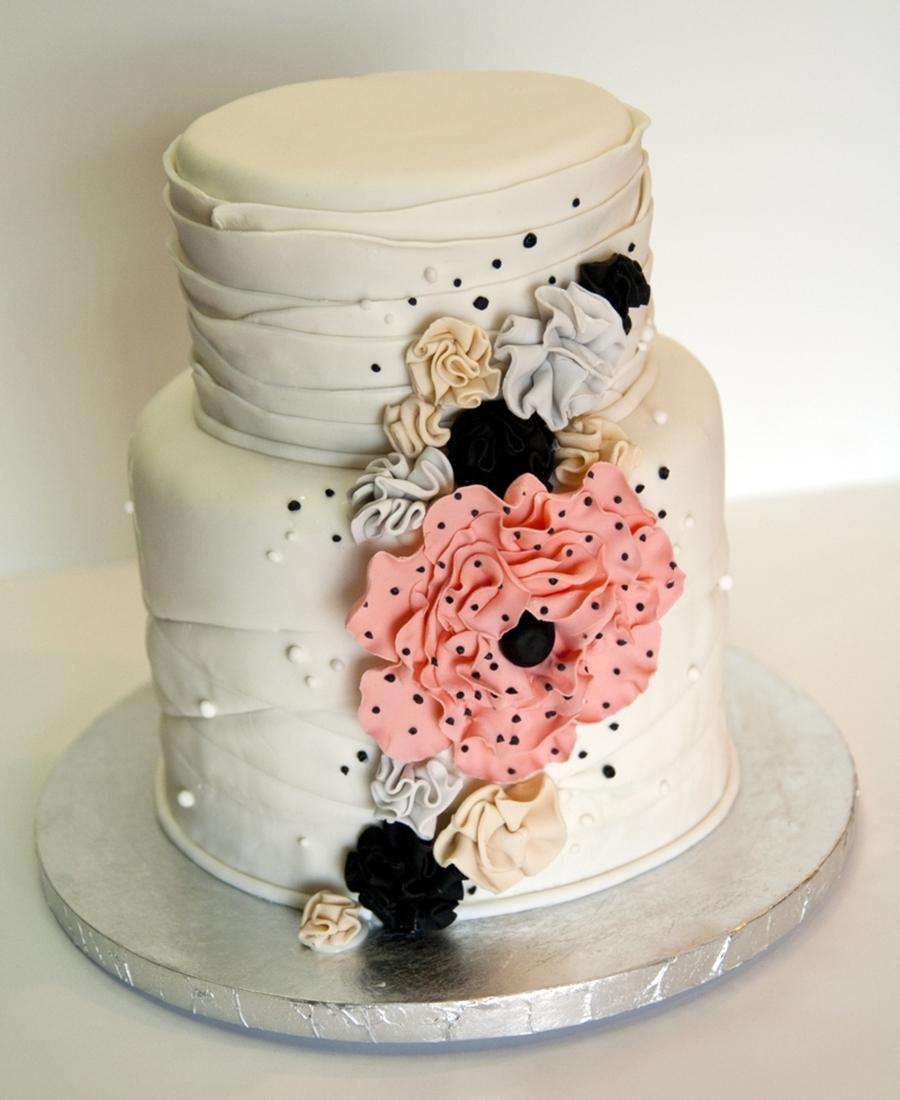 Vintage Flowers Birthday Cake Cakecentral Com