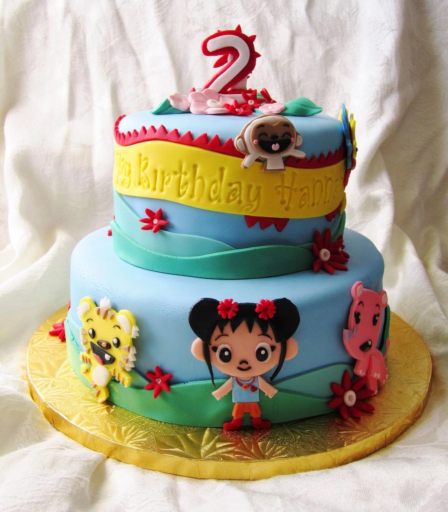 Kai Lan 2nd Birthday Cakecentral