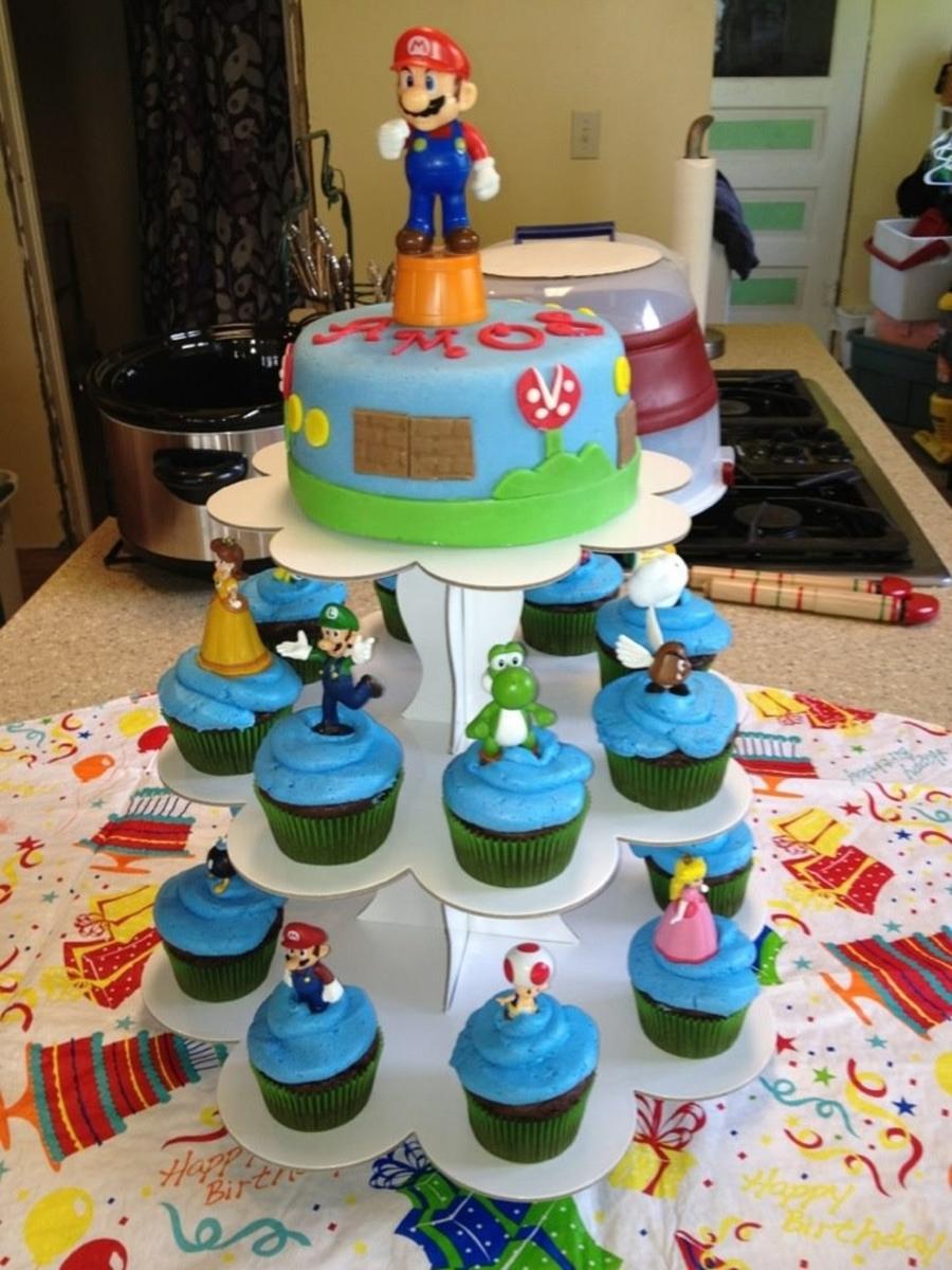 Brilliant Nintendo Birthday Cake Cakecentral Com Personalised Birthday Cards Veneteletsinfo