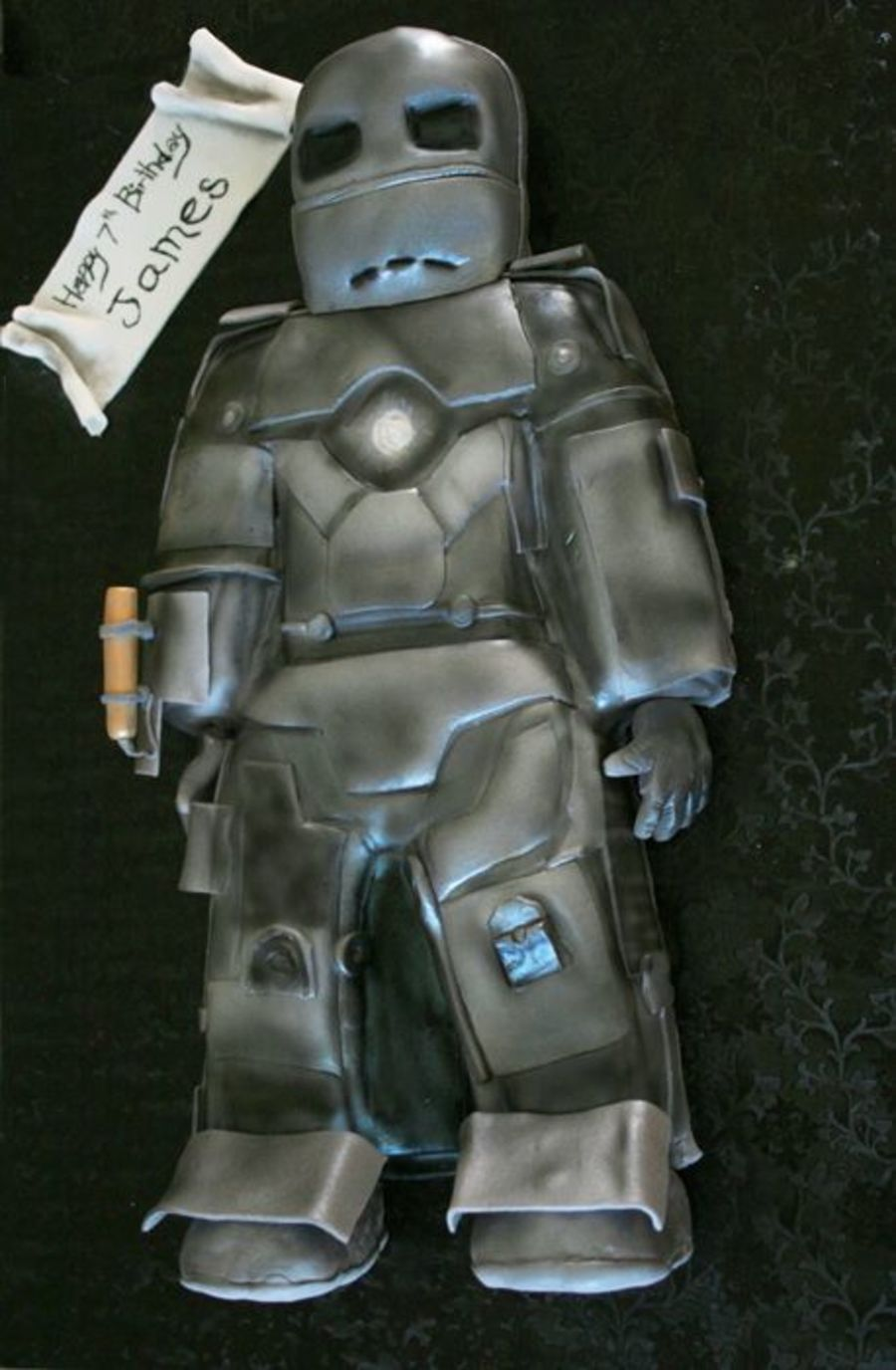 Ironman Mark 1 on Cake Central