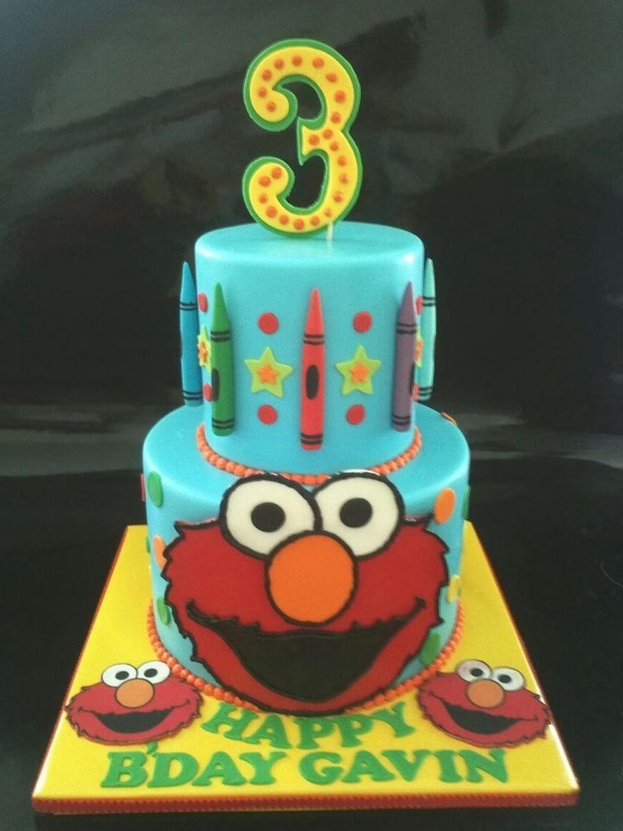 Elmo N Crayon on Cake Central