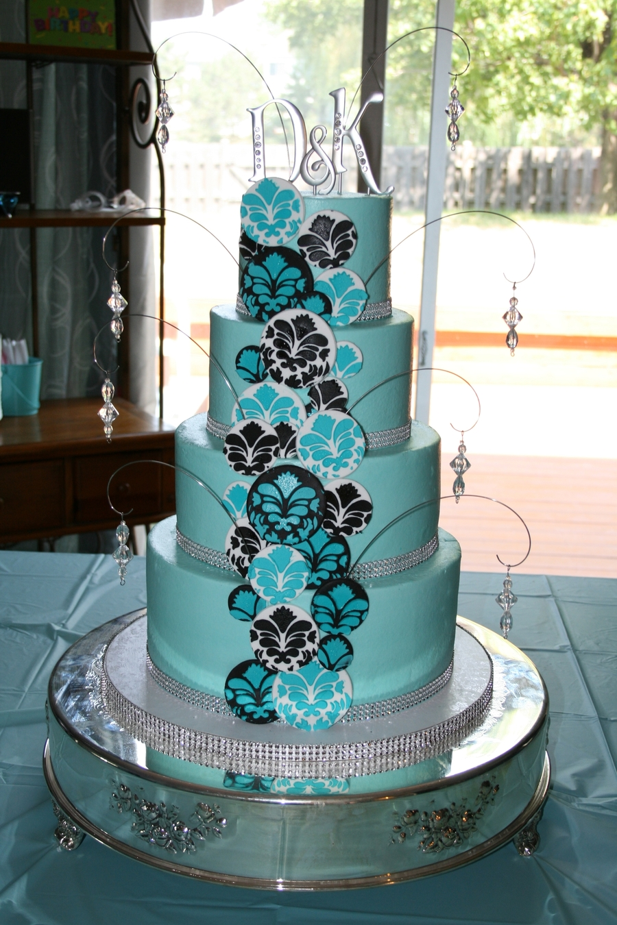 Tiffany Bling  on Cake Central
