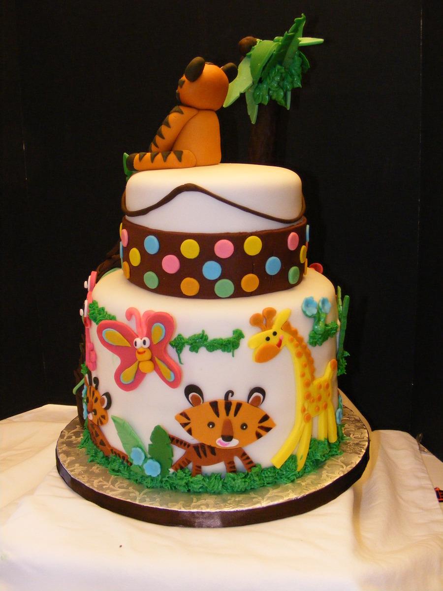 fisher price baby shower cake