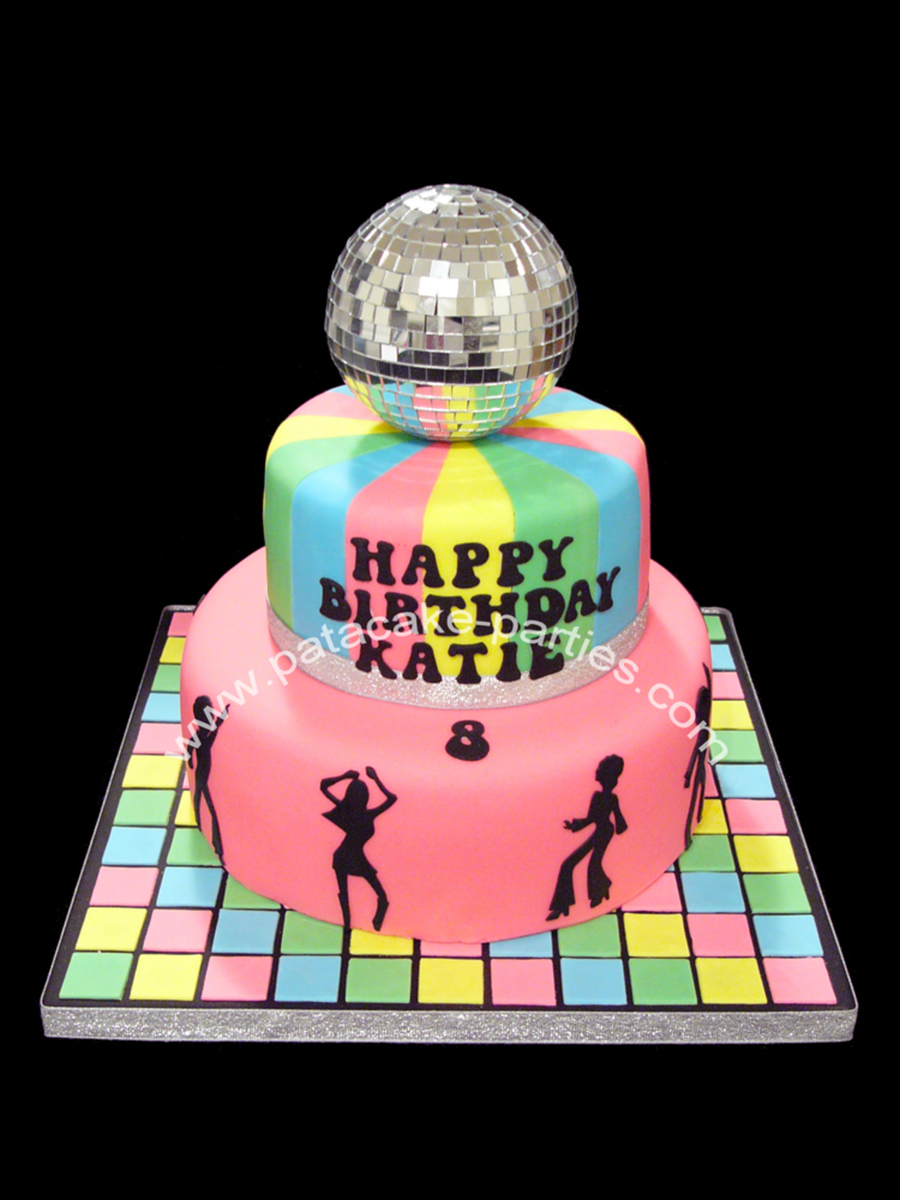 Disco Cake on Cake Central