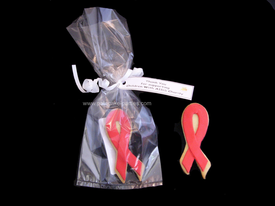 World Aids Day Cookies on Cake Central