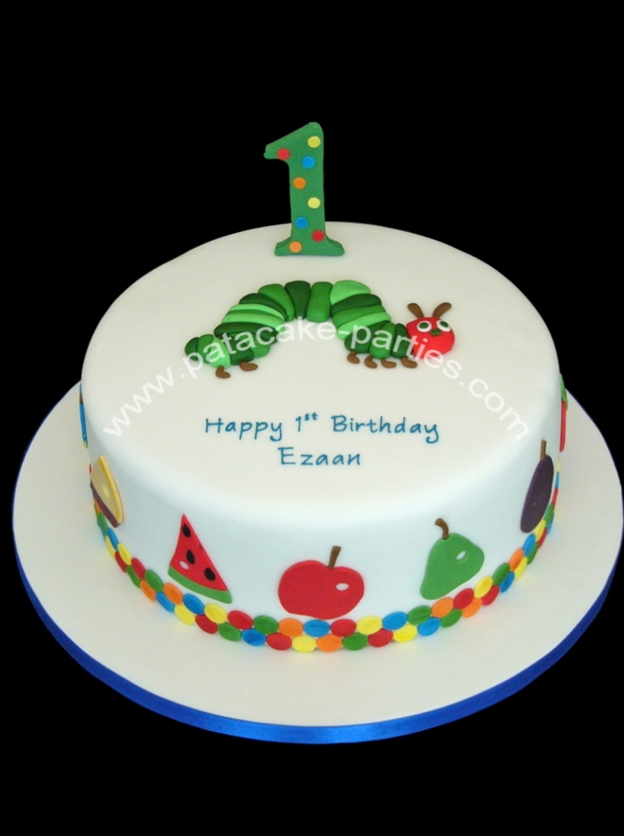 Very Hungry Caterpillar Birthday Cake Recipe