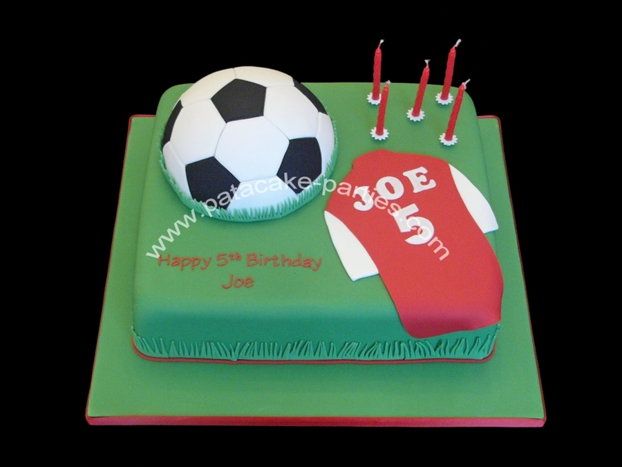 Football Themed Cake on Cake Central