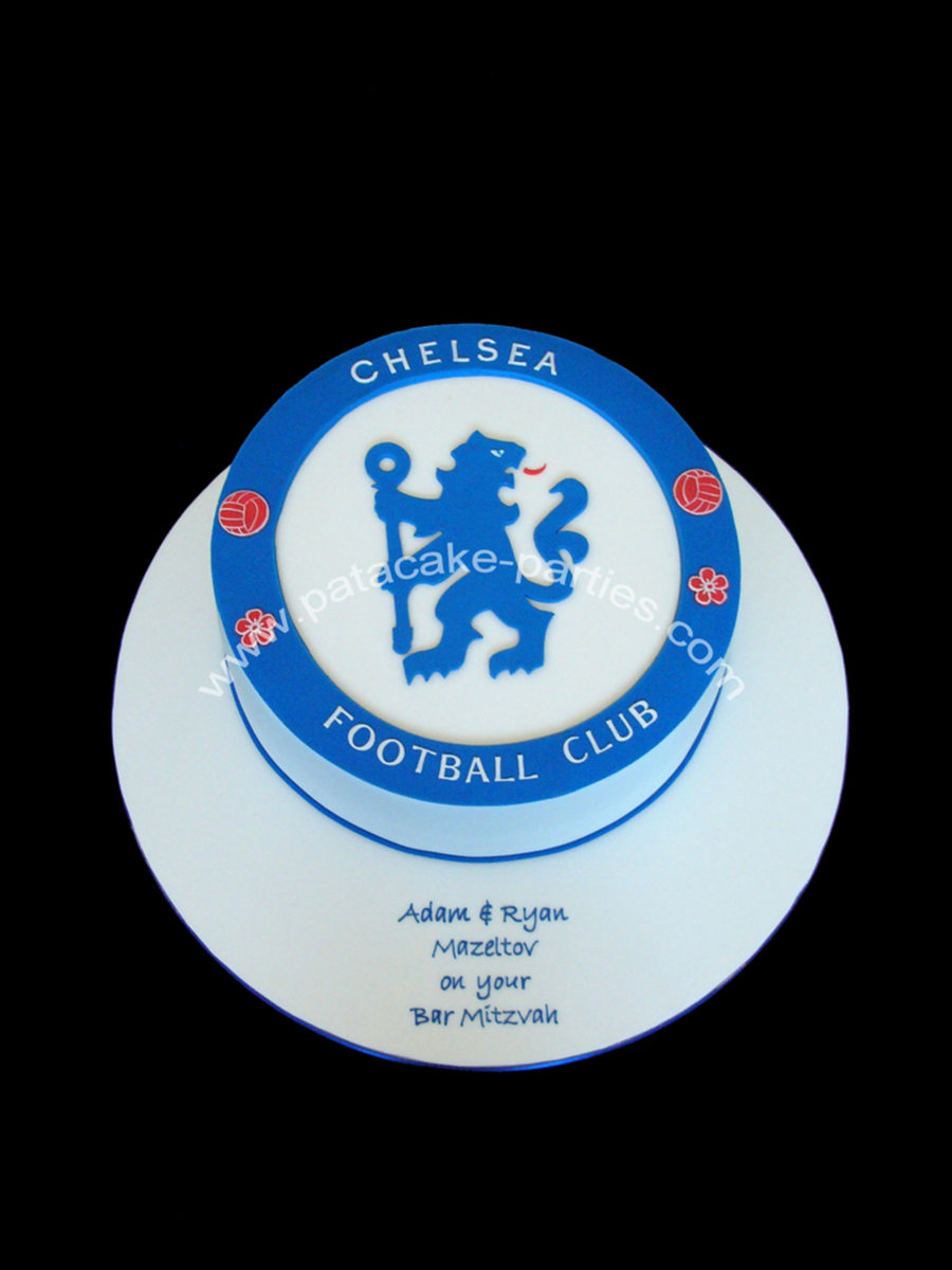Chelsea Fc Logo Bar Mitzvah Cake on Cake Central