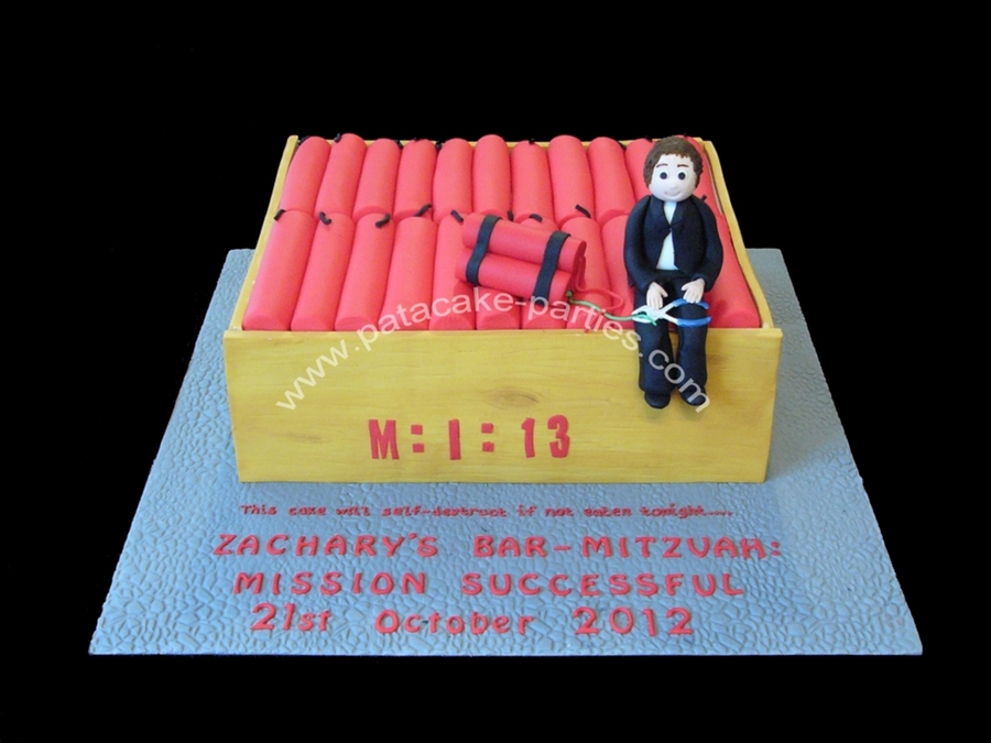 Mission Impossible Cake Recipe