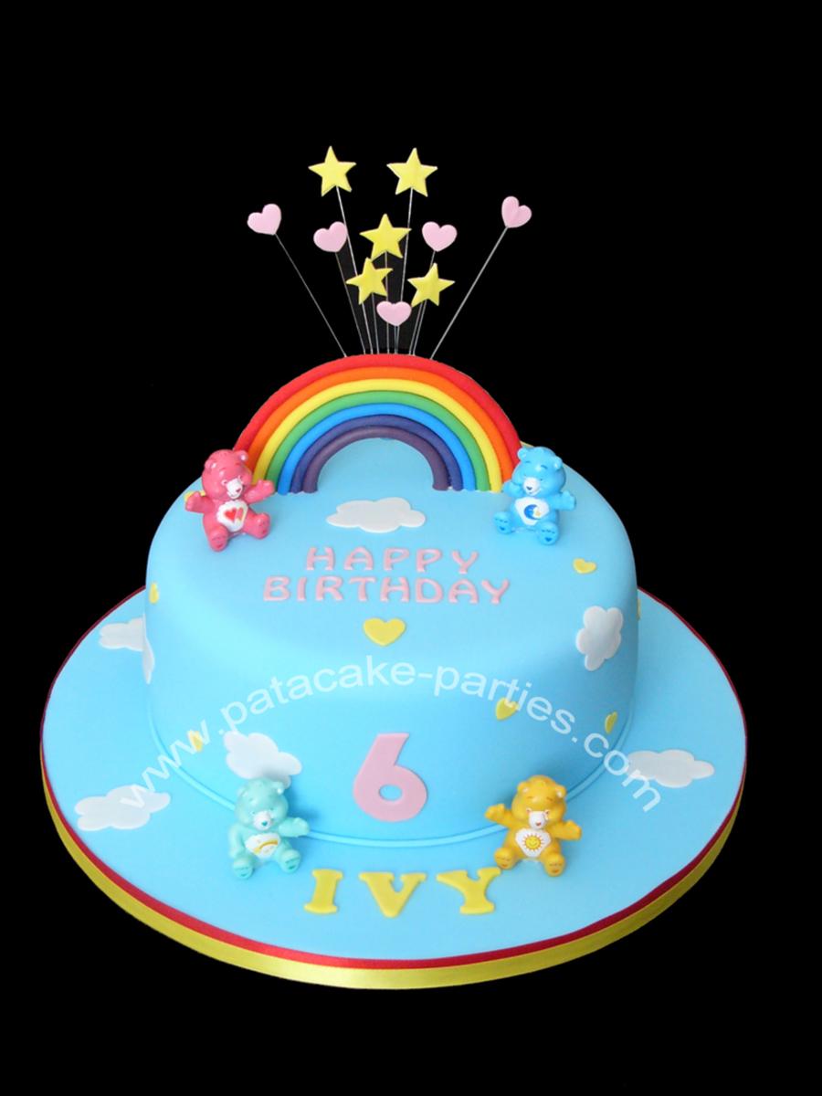 Care Bears Cake Cakecentral Com