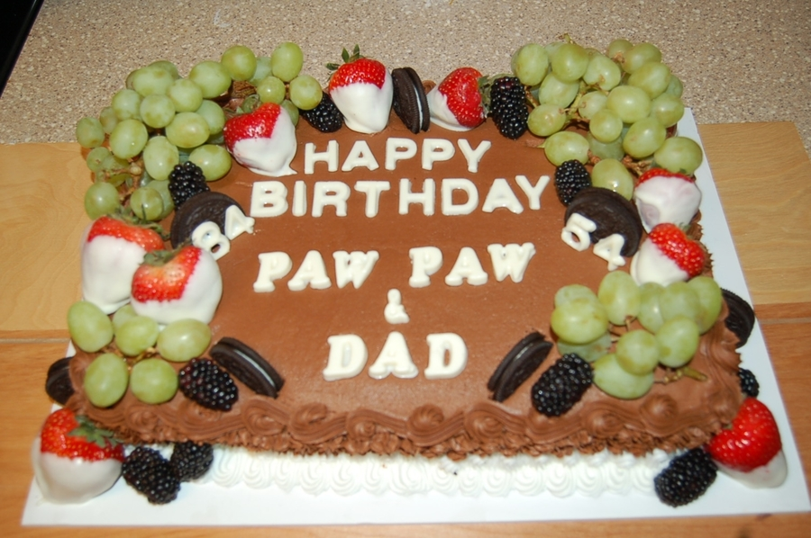 Pawpaw Cake on Cake Central