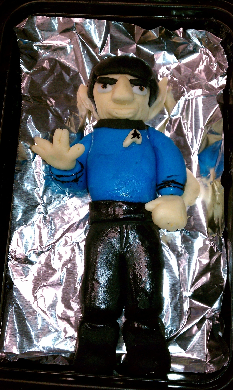 Mr. Spock on Cake Central
