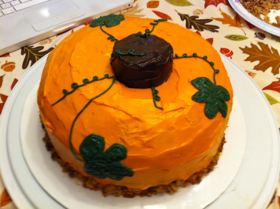 Pumpkin Cake on Cake Central