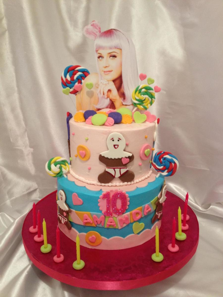 Katy Perry Cake Topper