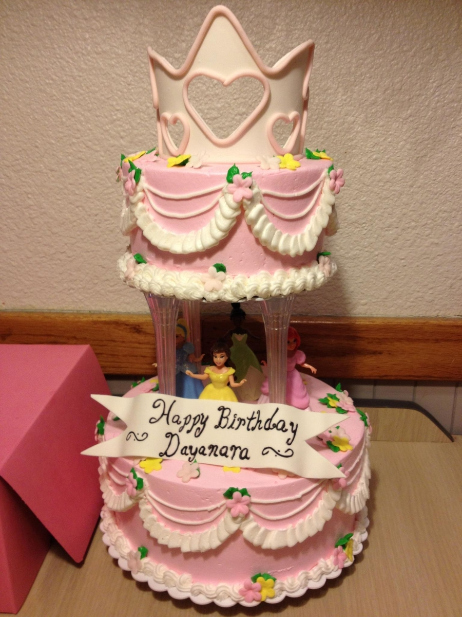 Traditional Princess Cake on Cake Central