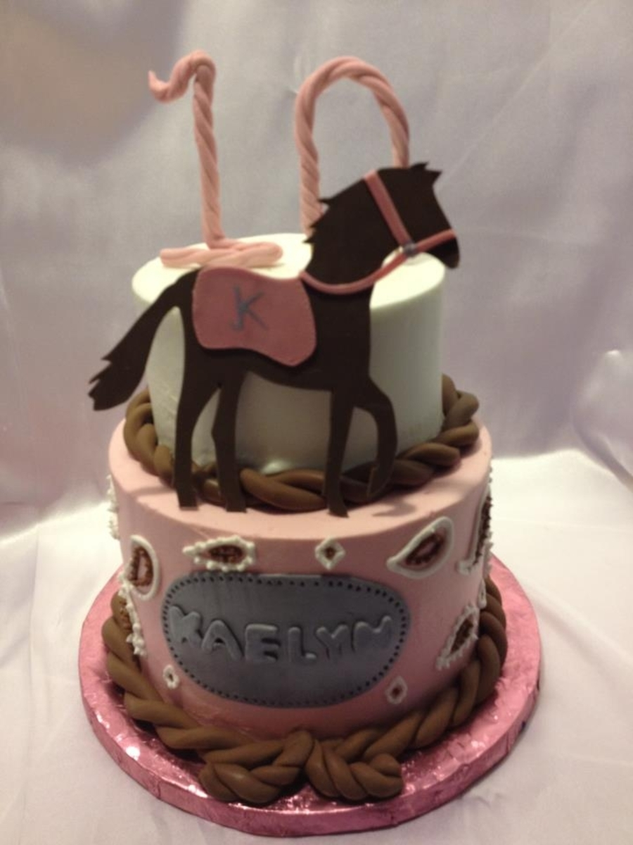 Paisleys And Horses on Cake Central