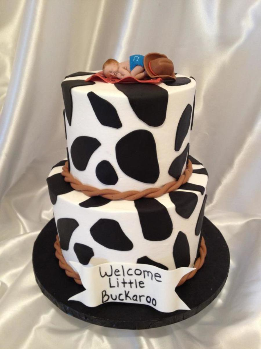 Western Themed Baby Shower Cake Cakecentral
