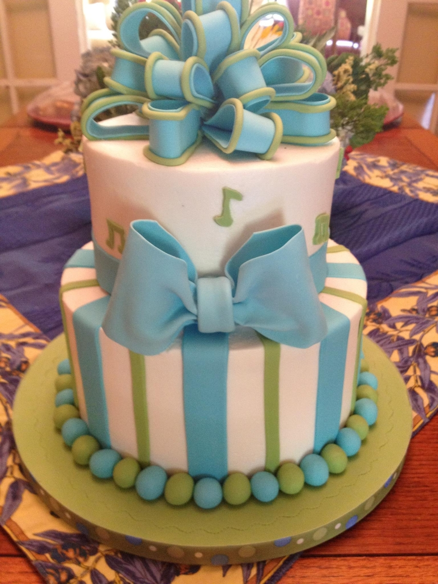 Baby Boy Shower Cake. on Cake Central