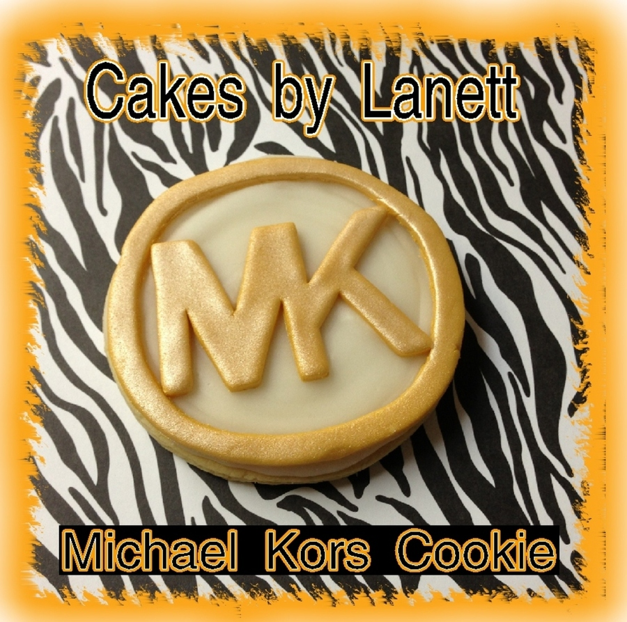 Michael Kors Custom Cookie on Cake Central