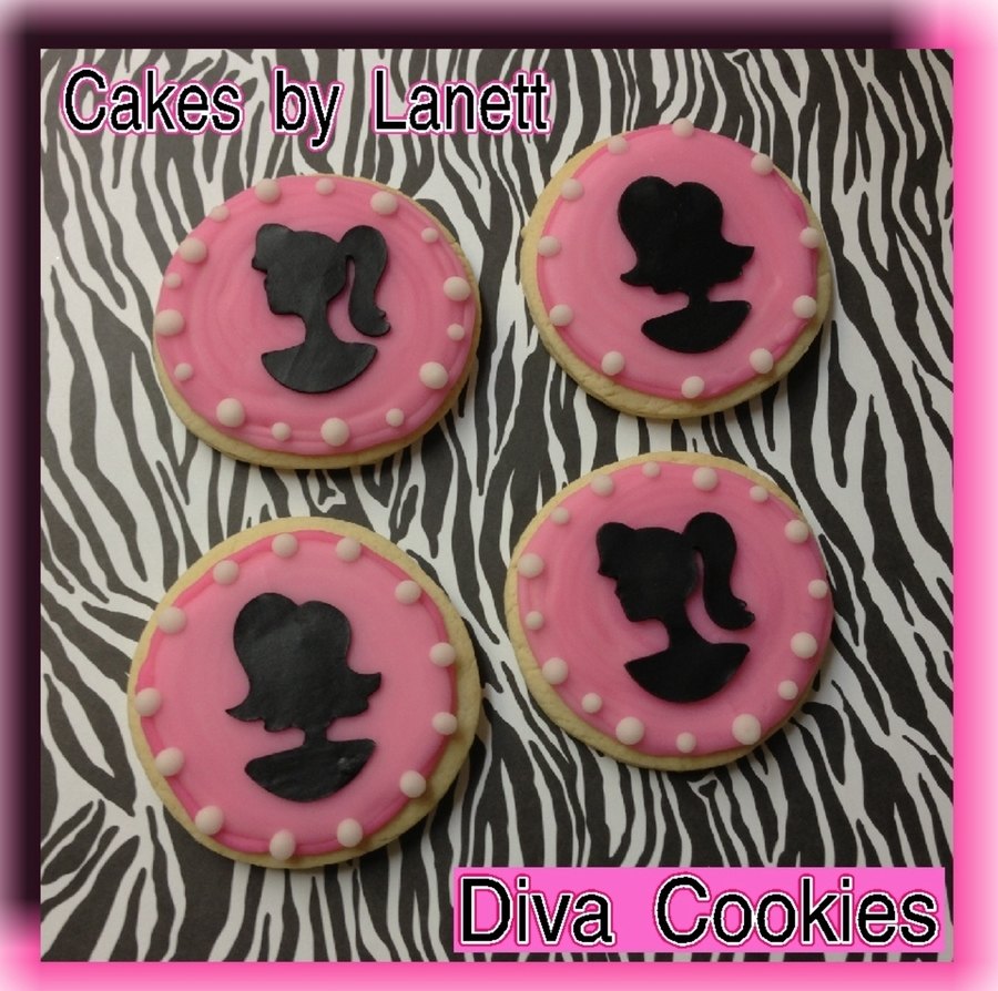 Diva Fashionista Cookies on Cake Central