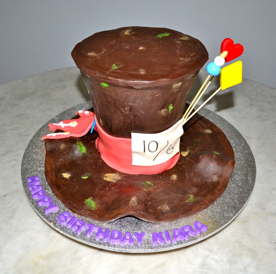 Mad Hatters Hat on Cake Central