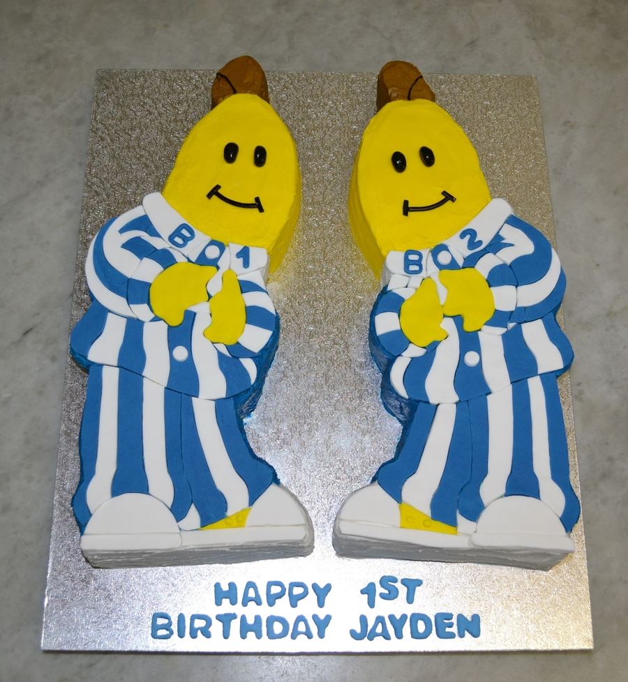 Bananas In Pyjamas Cake Recipe