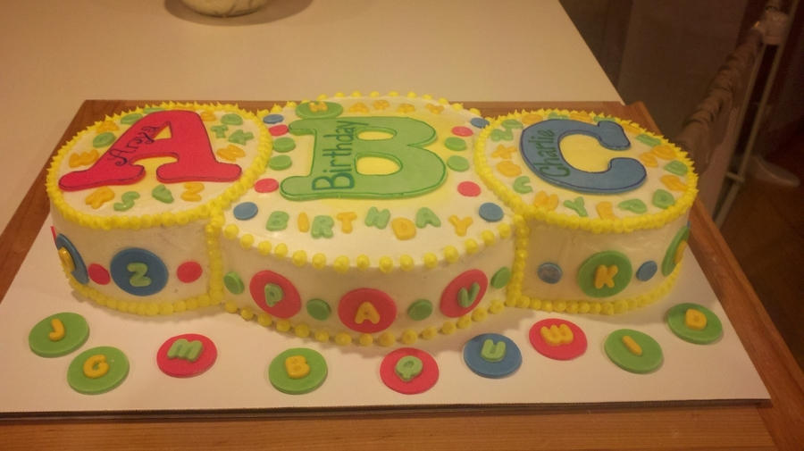 Abc Cake On Central